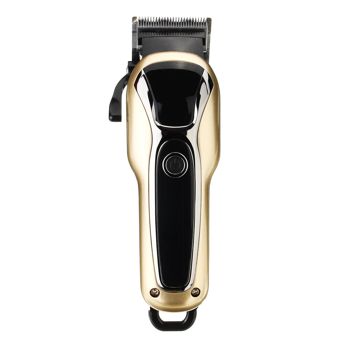 Electric Hair Clipper Beard Trimmer Shaver Mens Boys Haircut Clipper Grooming - 7