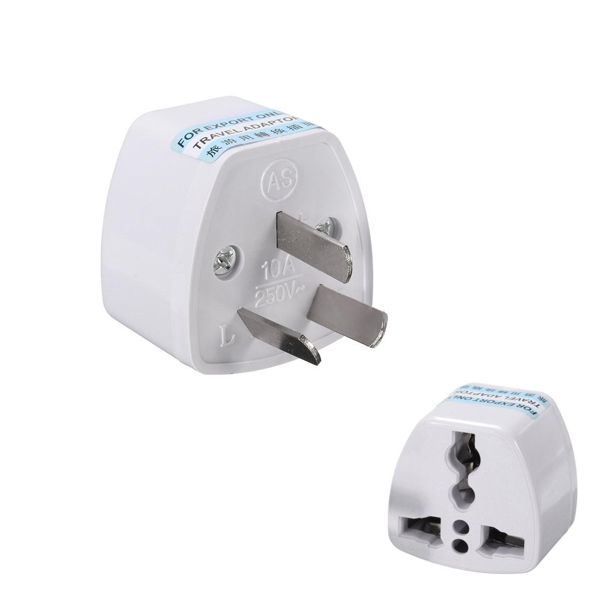 ILS Universal US//UK//AU To EU AC Power Adapter 2 Pins Travel Converter Adapter Charger Plug