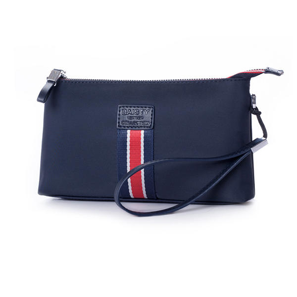Men Genuine Leather Clutches Bags Small Phone Bag Card Holder Business Bag - 3