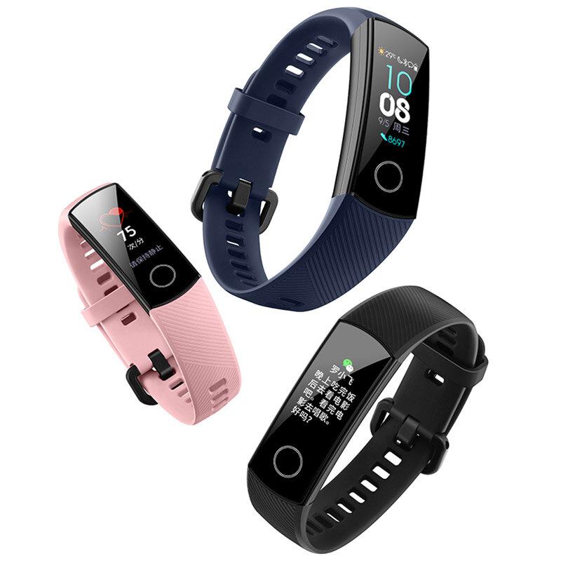 Huawei Honor Band 4 0.95 AMOLED 2.5D Swim Posture Detect Heart Rate Sleep Snap Monitor Smart Watch Bracelet
