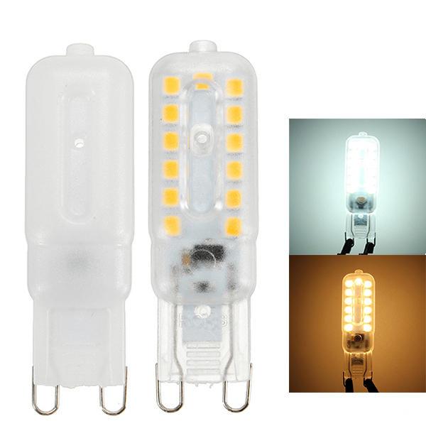 Dimmable G9 5W 22 SMD 2835 220Lm LED Transparent Shell Light Lamp Bulb 110V / 220V - 1