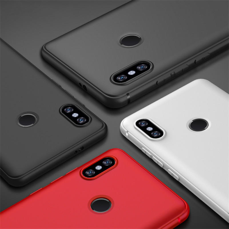 Bakeey™ Geometry Flip PU Leather Card Holder Full Cover Protective Case for Xiaomi Mi6X Mi 6X Mi A2 - 6