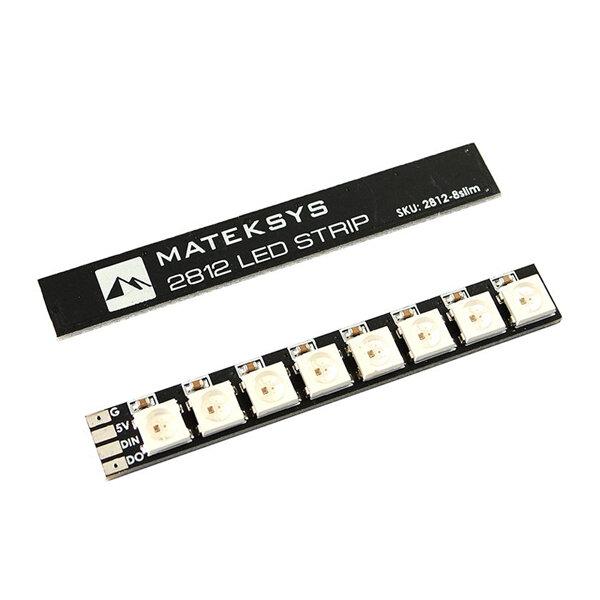 2X Mateksys 2812 LED Strip Sottile Scheda 5V per RC Drone FPV Racing - 1