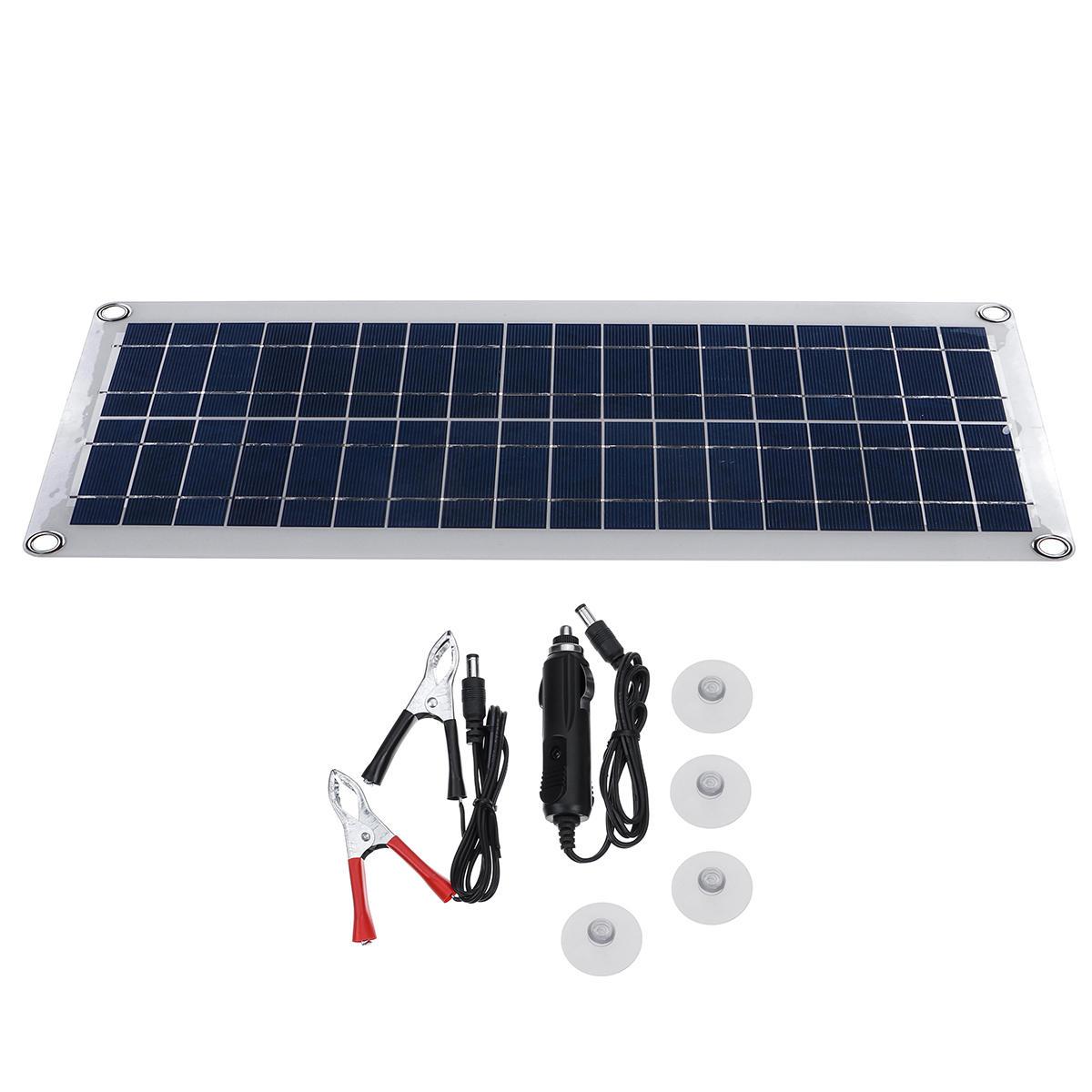 220V 500W 120000mAh 12V Portable Solar Powered System Generator Pure Sine Wave Emergency Backup Home - 2