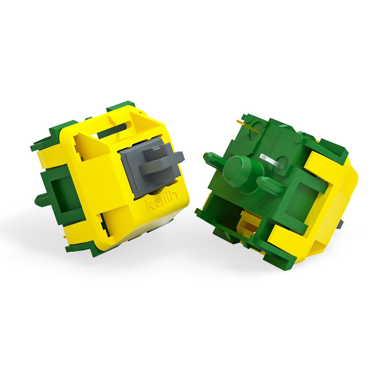 70Pcs/pack Kailh Canary Switch 5Pin Tactile Self-lubricating Mechanical Keyboard Switch for DIY Mechanical Gaming Keyboa