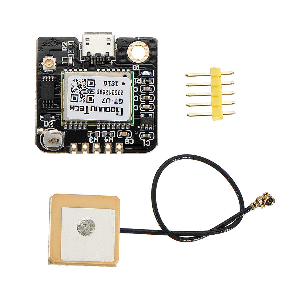 GT-U7 Car GPS Module Navigation Satellite Positioning Compatible with Arduino 51 MCU STM32