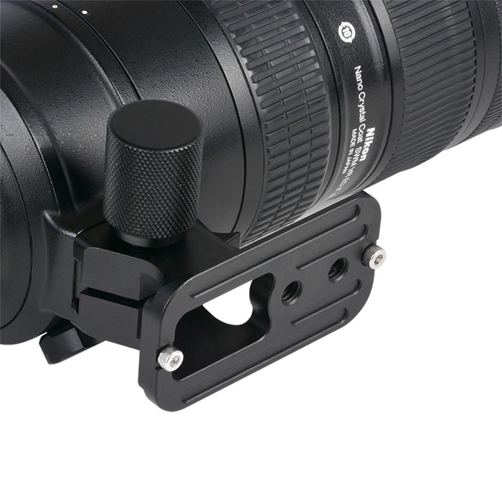 VELEDGE Camera Lens Quick Release Plate Base for Nikon 70-200mm F2 8 VR  VRII Lens 83XL