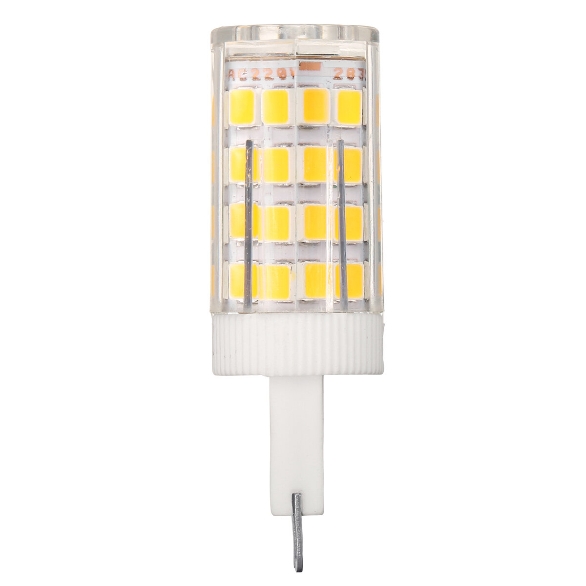 AC110-240V 9W G9 SMD2835 Non-dimmable 75 LED Ceramic Corn Light Bulb for Outdoor Home Decoration - 9