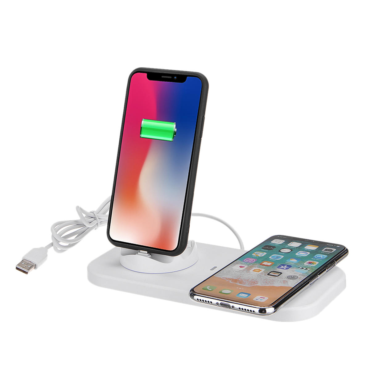 Qi Wireless Charger Station Phone