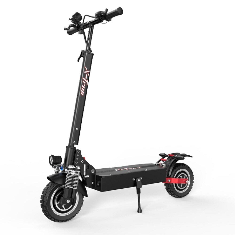 [EU DIRECT] X-Tron T10pro 2000W 52V 23.4Ah 10 Inch Electric Scooters 65km/h Max Speed 80Km Mileage 100Kg Max Load