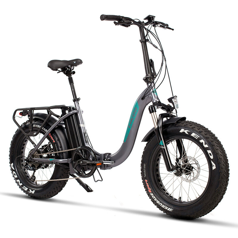 [EU Direct] LIKOO FT20 13Ah 48V 250W 20x4in Folding Moped Electric Bicycle 25km/h Top Speed 100km Mileage City Mountain Electric Bike