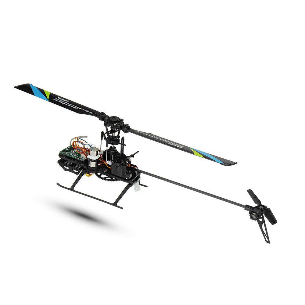 Eachine E119 2.4G 4CH 6-Axis Gyro Flybarless RC Helicopter RTF 3pcs 4pcs Batteries Version - 7