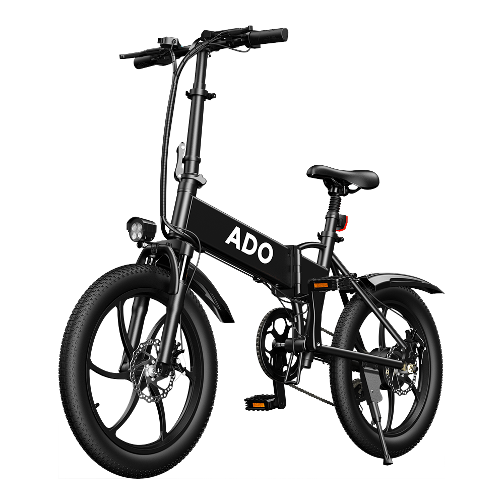 [EU DIRECT] ADO A20 350W 36V 10.4Ah 20 inch Electric Bike 25km/h Max Speed 80Km Mileage 120Kg Max Load Large Frame Releasable Max Speed Electric Bicycle