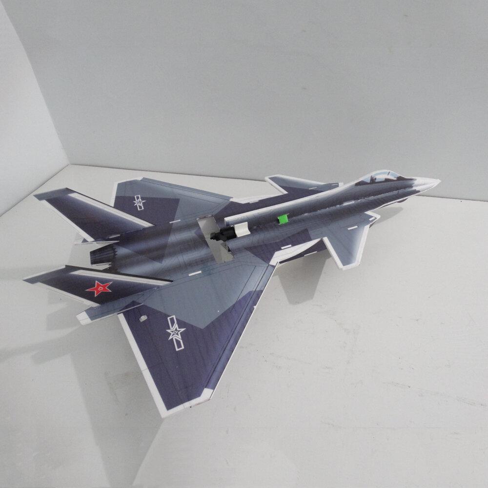 J20 5mm PP 650mm Wingspan Glue-n-go Foamboard RC Airplane Jet KIT