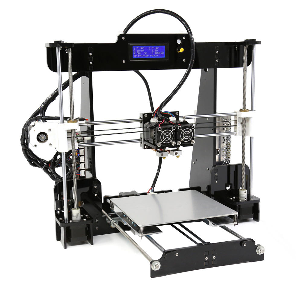 Anet® A8-m Diy Upgrated 3d Printer Kit Dual Extruder