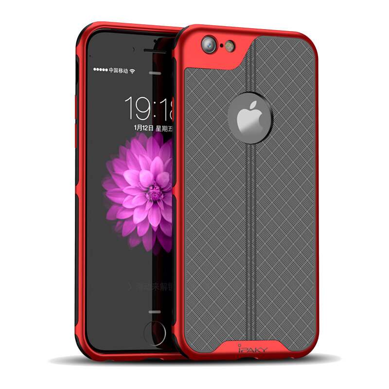 iPaky Plating Anti Fingerprint Heat Dissipation Hard PC Protective Case For iPhone 7/iPhone 8/iPhone SE 2020