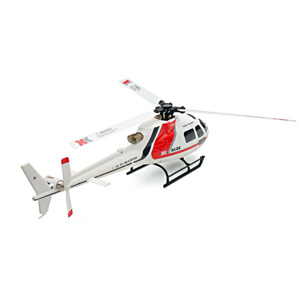 OMPHOBBY M2 V2 6CH 3D Flybarless Dual Brushless Motor Direct-Drive RC Helicopter BNF with Open Flight Controller - 5