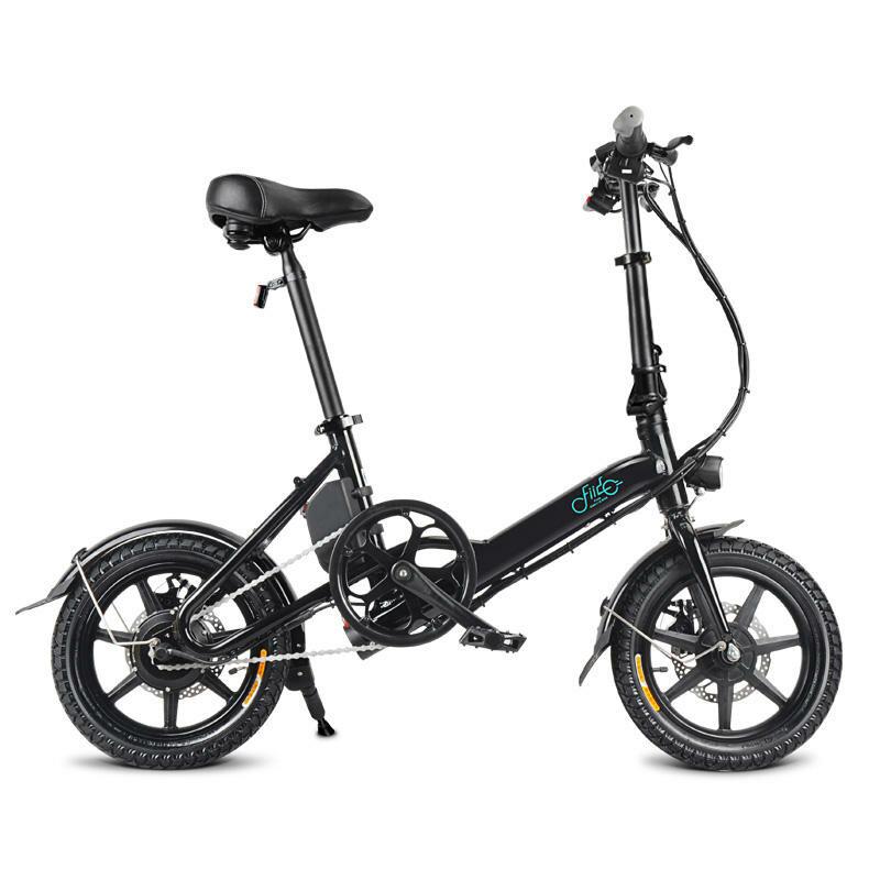 EU Direct FIIDO D3 7.8Ah 36V 250W 14 Inches Folding Moped Bicycle 25km or h Top Speed 50KM Mileage Range Mini Electric Bike