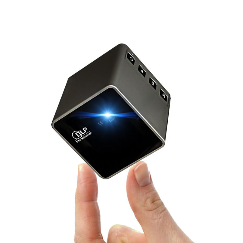 UNIC P1 Plus WIFI Wireless Pocket DLP Mini Projector 30 Lumens Micro Miracast DLNA Video Projector