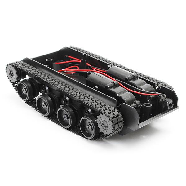 3 V-7 V Işık Şok Emilmiş Akıllı Robot Tank Şasi Araba DIY Kit Ile 130 Motor Için Arduino SCM Için