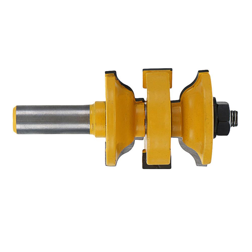 3pcs 1/2 Inch Shank Router Bit Woodworking Cutter - 3