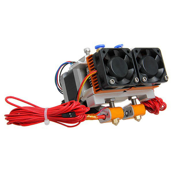 Geeetech® 3D Printer Dual Nozzle Extruder Two-color Extrusion Nozzle Kit