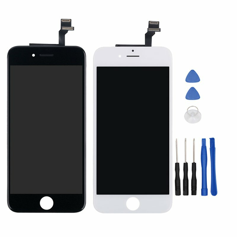 sale retailer 478b0 39d71 Bakeey Full Assembly LCD Display+Touch Screen Digitizer Replacement With  Repair Tools For iPhone 6