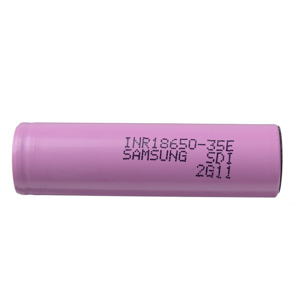 INR18650-35E 3.6v 3500mah Flat Top Protected Rechargeable 18650 Li-ion Battery 1pcs