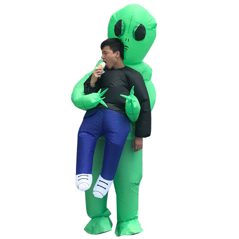 Inflatable Toy Costume Carnival Party Fancy ET Aliens Clothing For Adults Free Shipping фото