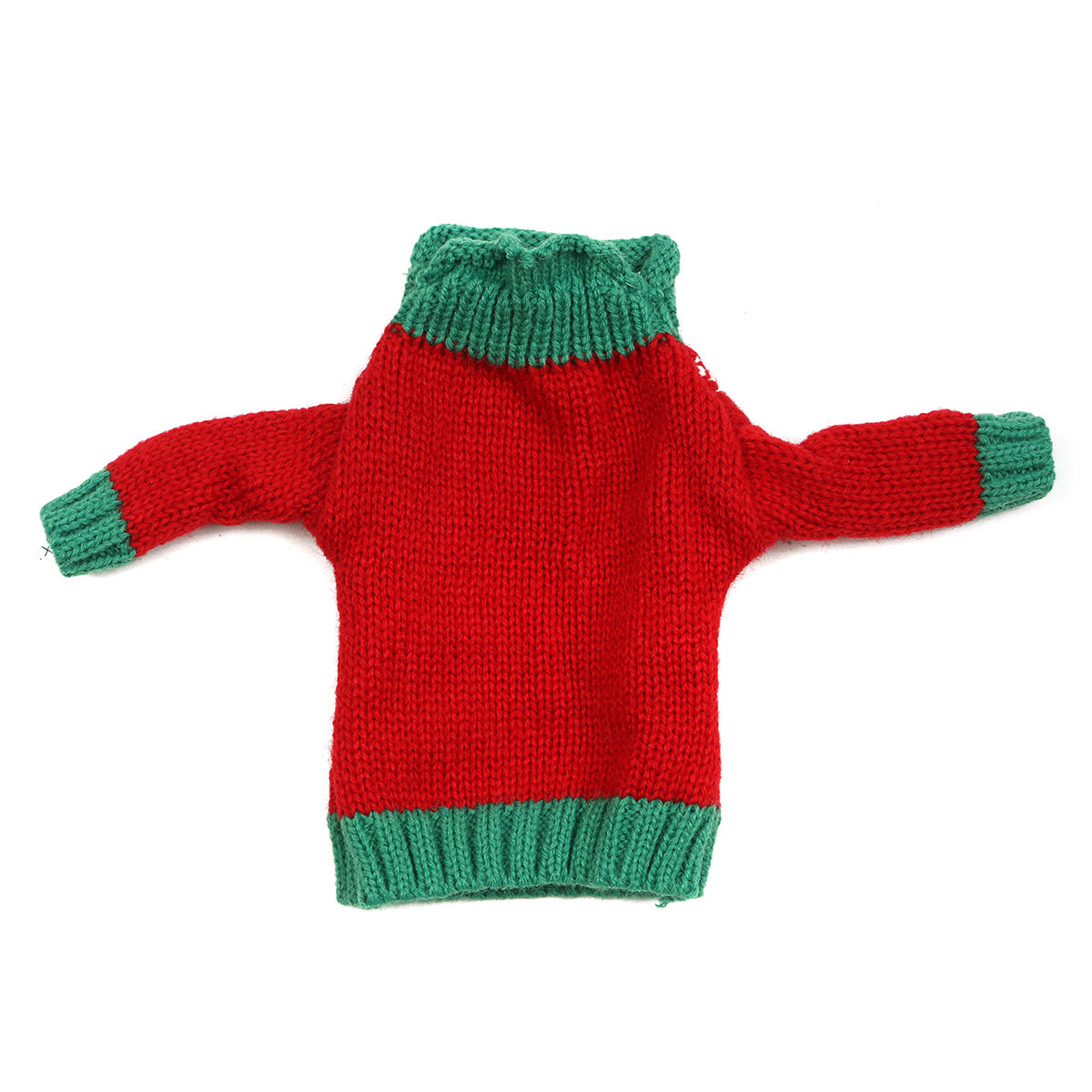 Christmas Knitted Sweater Lid Hat Wine Bottle Cover Wrap Bag Xmas Decoration - 11