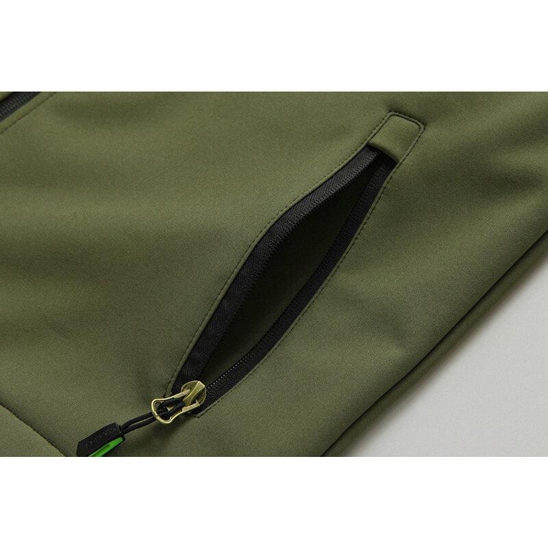 Mens Denim Photography Blue Zipper Multi Pockets Fishing Outdoor Casual Vest - 6