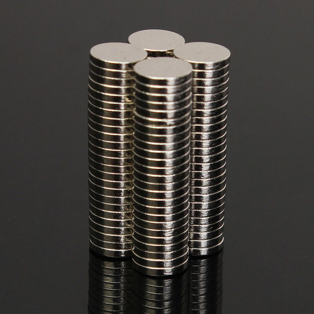 10pcs N52 30mmx3mm Strong Round Disc Magnets Rare Earth Neodymium Magnets - 2