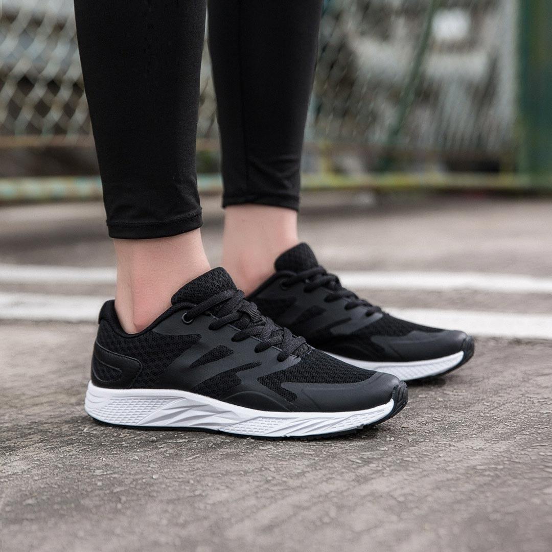 YUNCOO Ultralight Men Sneakers High Elastic EVA Wear Resistance Non slip Sports Running Shoes Casual Shoes from xiaomi youpin - 6