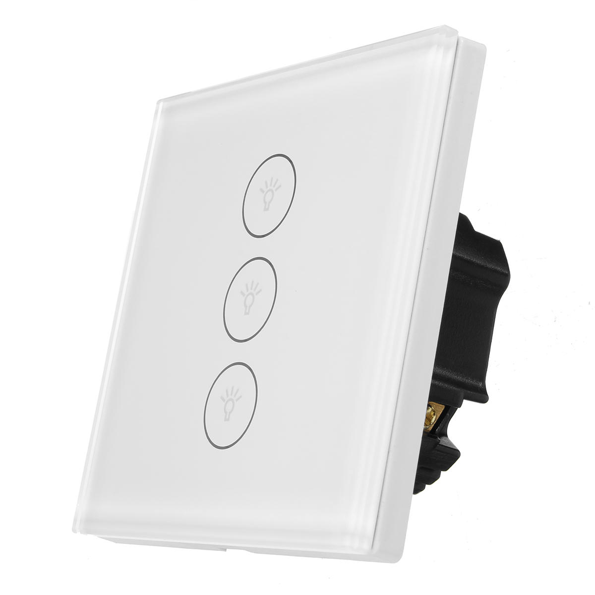 Excellway WIFI Smart Wall EU Switch Touch Panel APP Control With Alexa/Google Home
