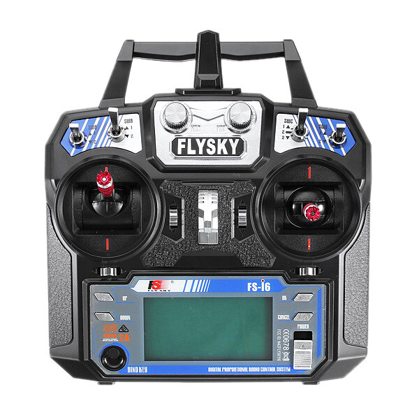 Flysky i6X FS-i6X 2.4GHz 10CH AFHDS 2A RC Transmitter With X6B/IA6B/A8S Receiver for FPV RC Drone - 3