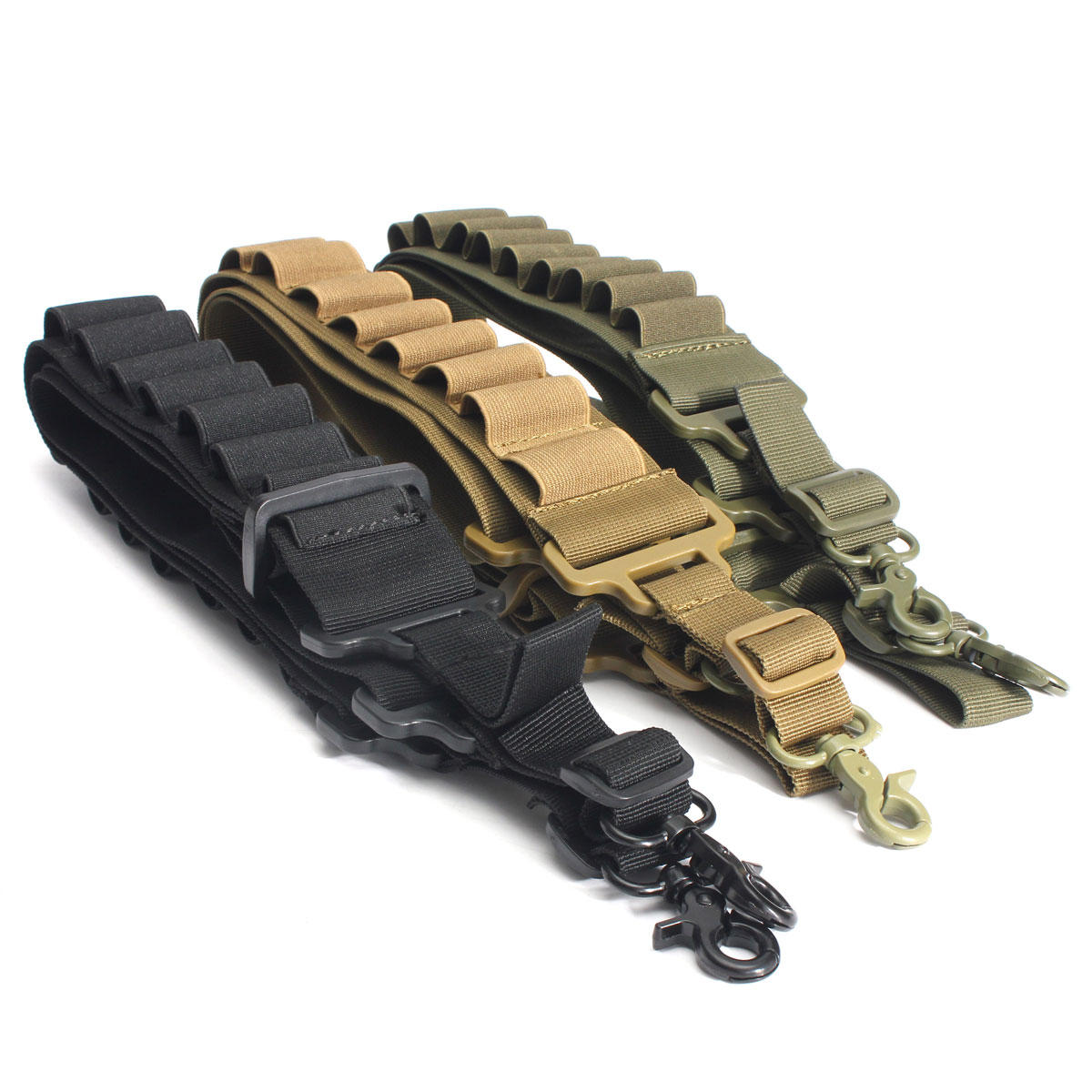 Tactical 2 Point Bungee Sling Quick Release Adjustable Paintball Strap