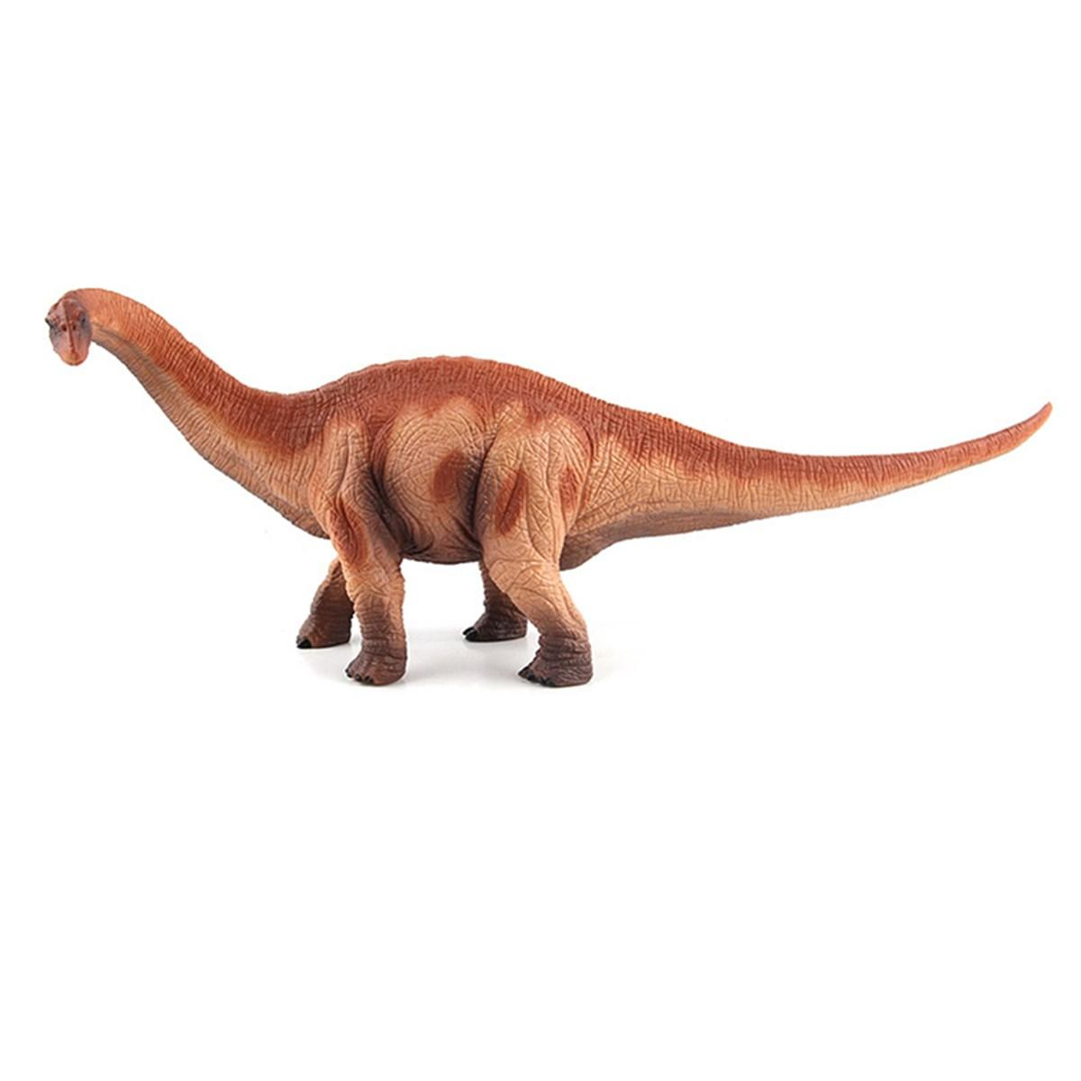 Grande Brachiosaurus Dinosaur Toy Realistic Diecast Model Solid Plastic Gift To Kids - 4