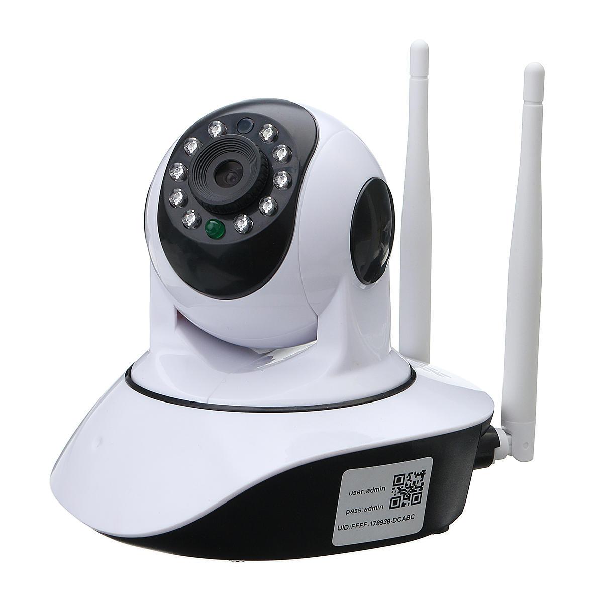 720P Bezprzewodowa kamera IP Sieć bezpieczeństwa Kamera CCTV Pan Tilt Night Vision Kamera internetowa WIFI
