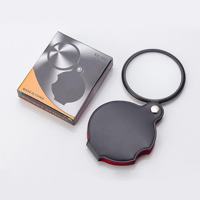 60mm Portable Foldable Magnifier Reading Jewelry Maintenance Magnifier - 11
