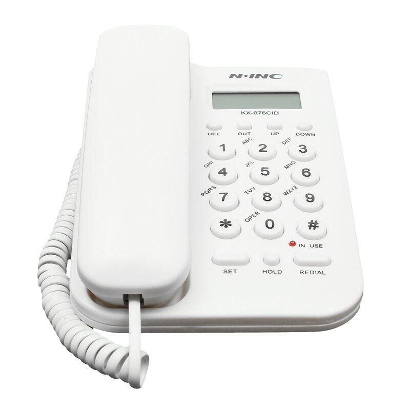Ninc Telephone Corded Phone Landline Phone Home Office