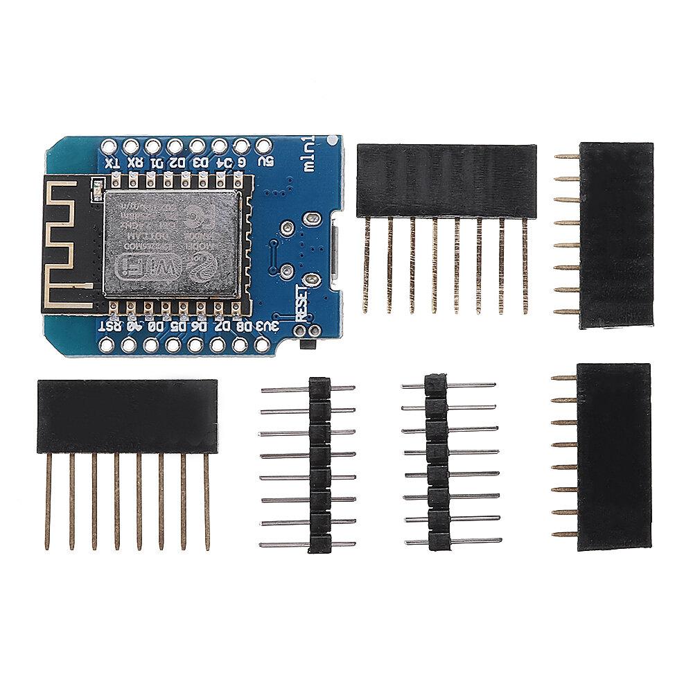D1 mini V2.2.0 WIFI Internet Development Board Based ESP8266 4MB FLASH ESP-12S Chip Geekcreit for Arduino - products that work with official Arduino boards