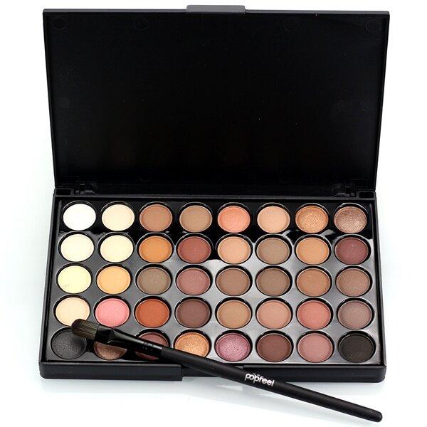 Banggood 40 Colors Mini Eye Shadow Palette Set Kit Glitter Shimmer Cosmetic Portable Eye Makeup