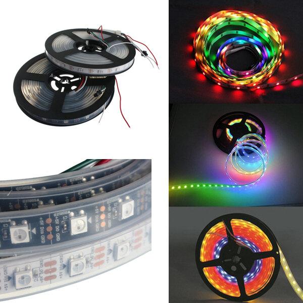 5050 RGB 4M 240LEDS WS2812B Waterproof IP65 LED Strip Light LED Individual Addressable DC 5V - 1