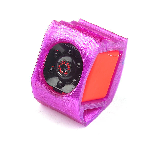 3D Printer TPU Camera Mount for SQ11 1080P Damping 30 Degree Elevation Angle for RC Drone 7.2g