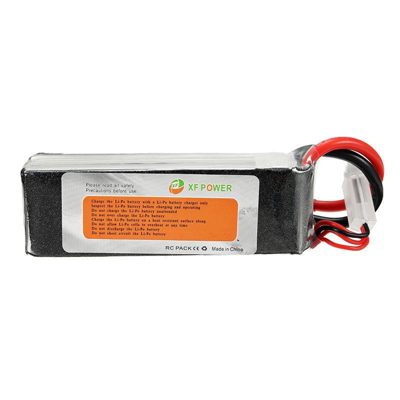 XF Power 11.1V 2200mAh 60C 3S Lipo Bateria Plug XT60 - 3
