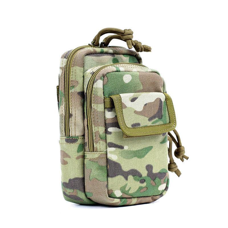 FEDE PRO Camouflage Cellulare Molle EDC Tactical Belt Bag pacchetto impermeabile di accessori bagagli Pouch - 1