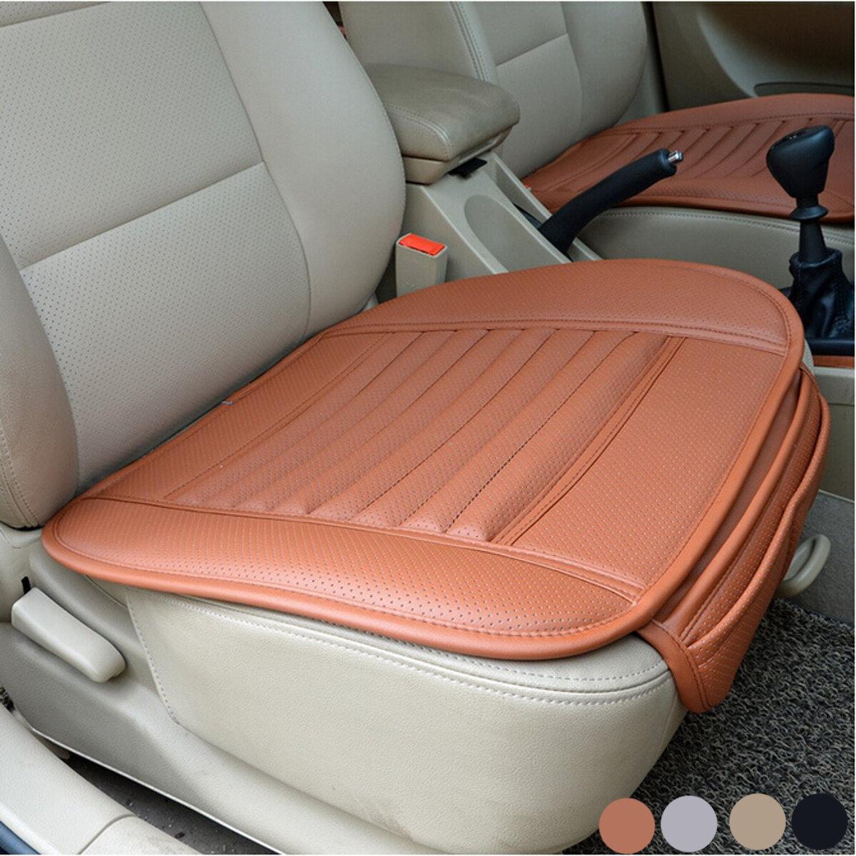 universal seat pad pu leather bamboo charcoal