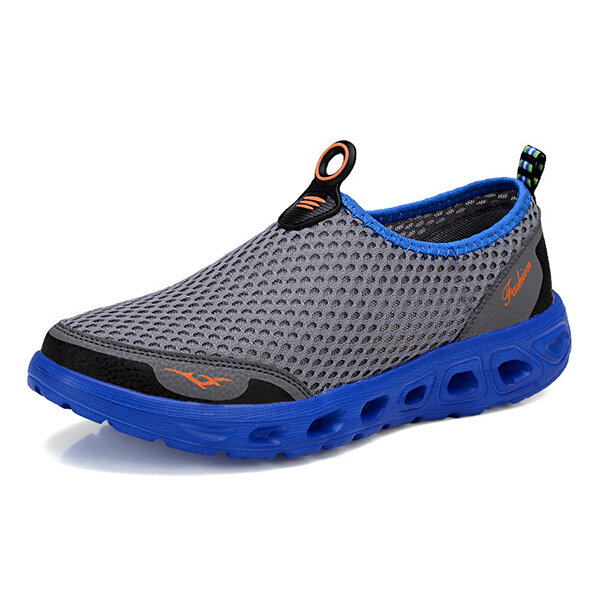 Lightweight Hollow Out Casual Sport Shoes In Mesh Sneakers - 6
