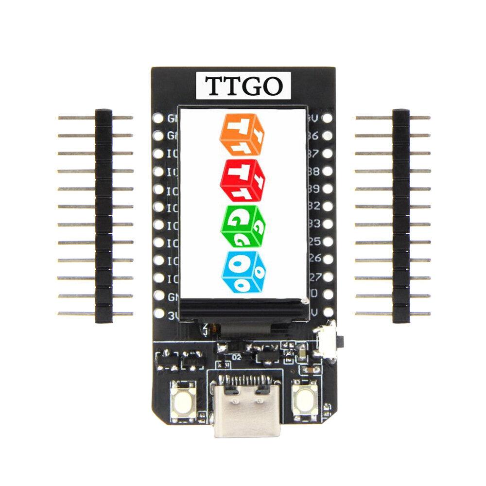 LILYGO® TTGO T-Pokaz ESP32 CP2104 WiFi Moduł Bluetooth 1.14 Inch LCD Development Board dla Arduino