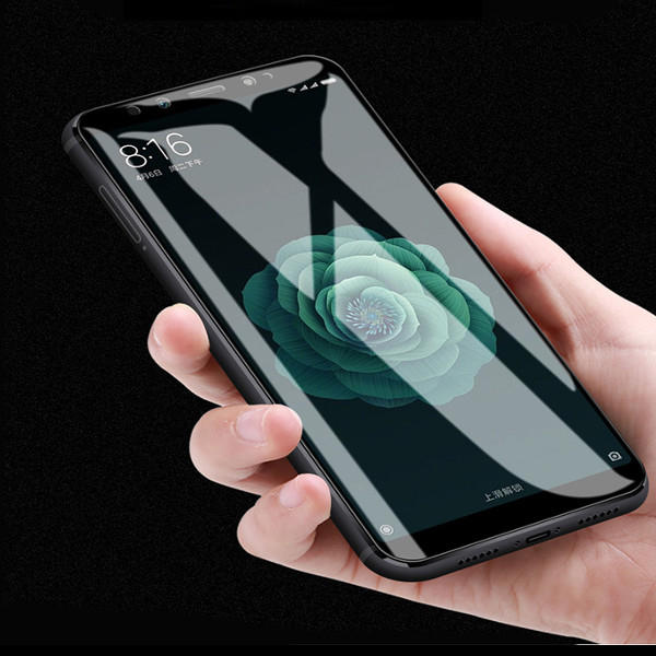 premium selection 42fe8 24800 Bakeey 5D Curved Edge Full Cover Tempered Glass Screen Protector For Xiaomi  Mi A2 / Xiaomi Mi 6X
